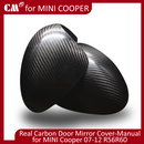 Mini Cooper R56 R60 Real Dry Black Carbon DOOR MIRROR COVER (LHD)